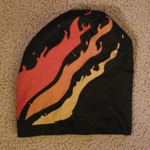 Preston flame beanie (Never Worn)